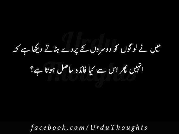 Urdu Novel Say Iqtibas - Mein Logon Ko