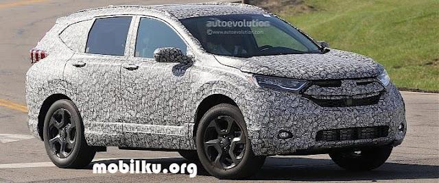 All New Honda CRV, test, uji, keluar, terbaru