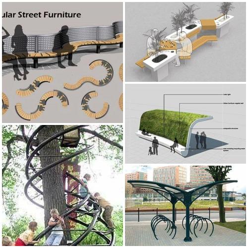 Apuntes revista digital de arquitectura mobiliario for Mobiliario urbano tipos