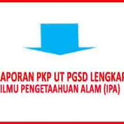 Laporan Pkp Bahasa Indonesia Ut Pgsd Terbaru Masa Registrasi Mata