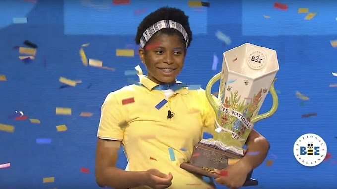 Louisiana Teen, Zaila Avant-gard Becomes the First African American Contestant to Win National Spelling Bee