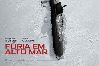 Novo filme de Gerard Butler, Fúria em Alto Mar, ganha trailer