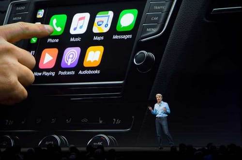 Apple's success in CarPlay paved the way for automotive ambitions