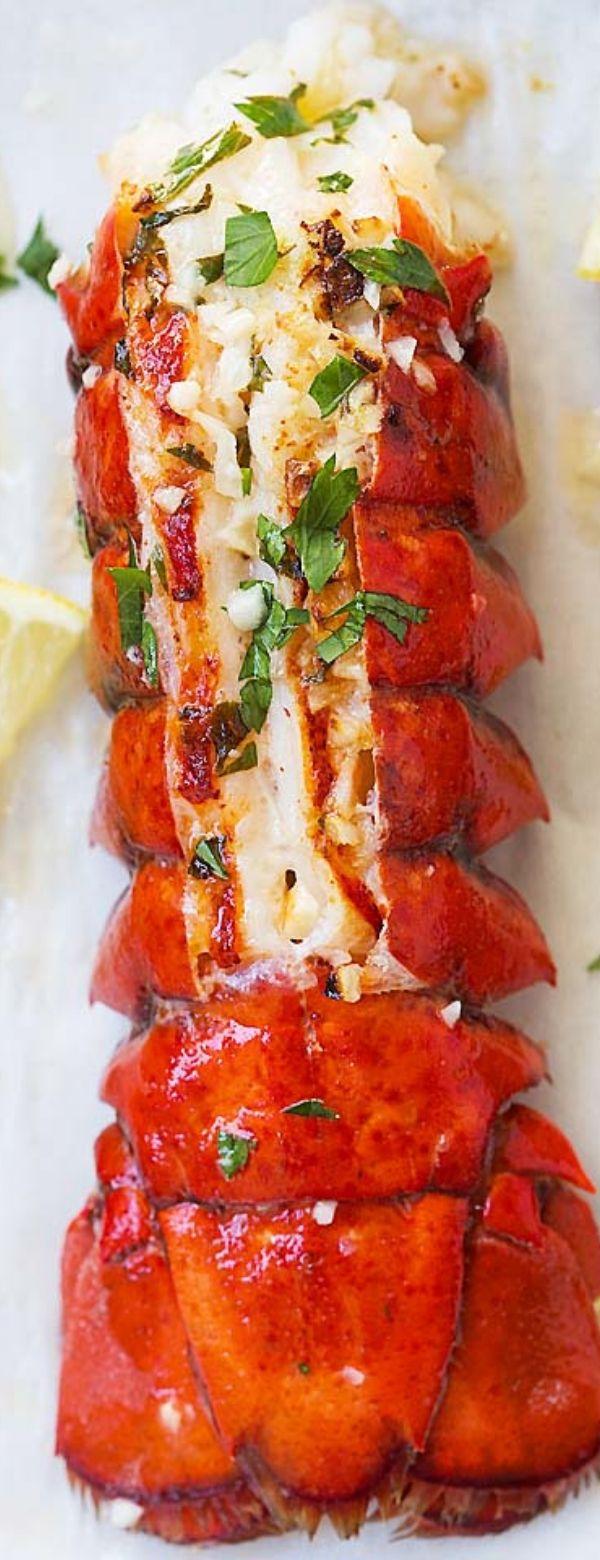Garlic Butter Lobster Tail Recipe