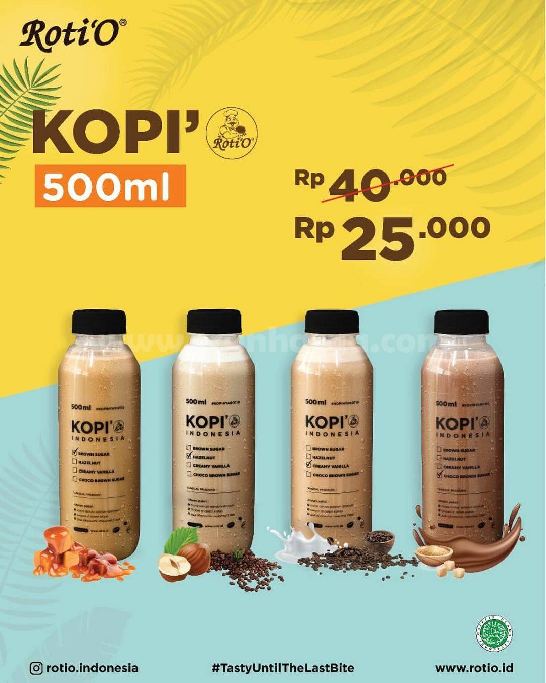 Promo Roti'O PPKM / Promo Paling Keren & Mantap mulai Rp. 10.000 2