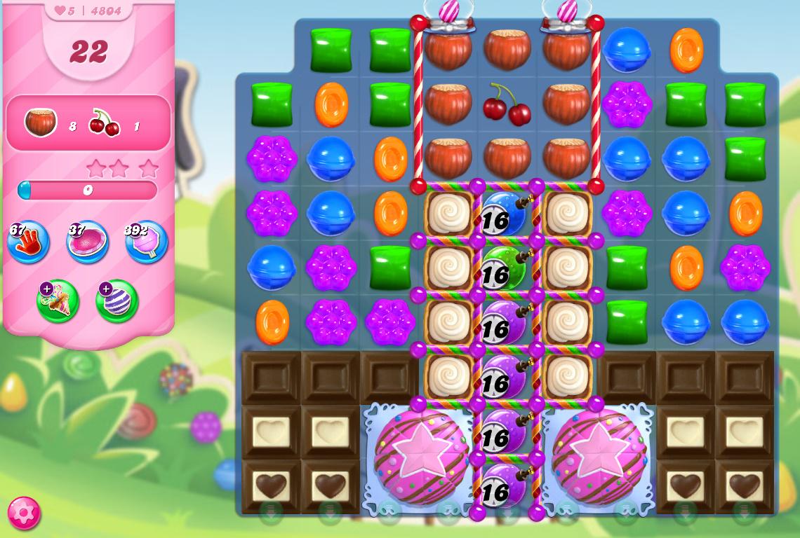 Candy Crush Saga level 4804