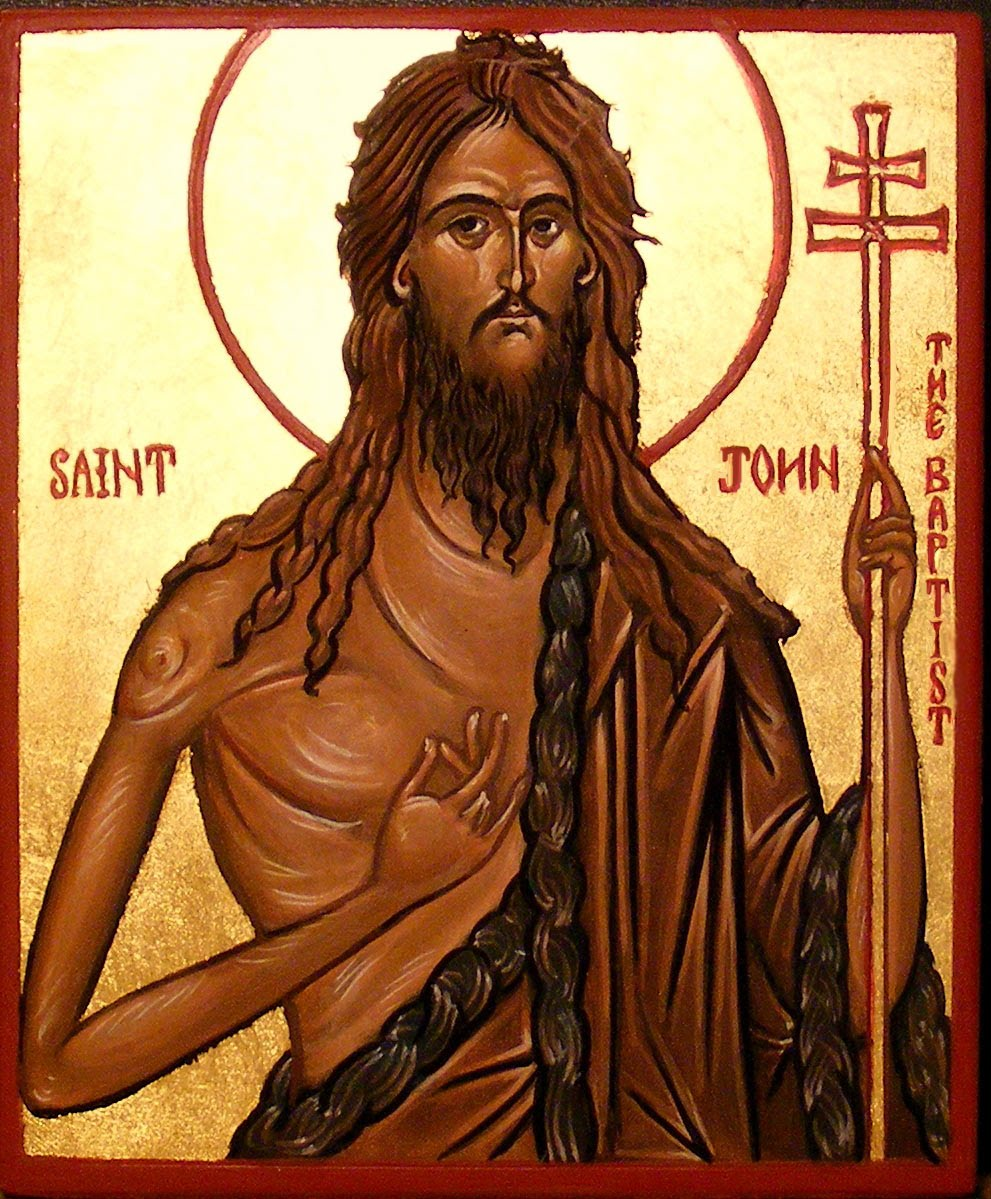 JUNE 24 - Solemnity of the Nativity of John the Baptist