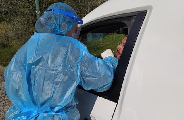 Αργολίδα: Δωρεάν rapid test μέσα από το αυτοκίνητο στο Λυγουριό