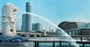 Merlion Park di Singapura