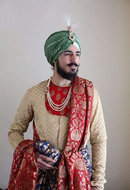 Punjabi Wedding Groom Dress 2020 Maharaja style