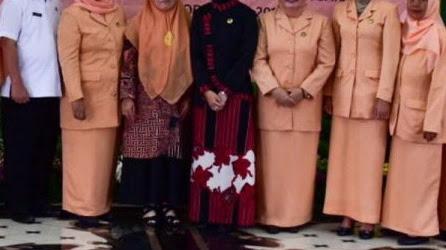 Hayati Toto Resmi Jadi Ketua Dharma Wanita Persatuan Sekretariat DPRD Provinsi Jawa Barat.
