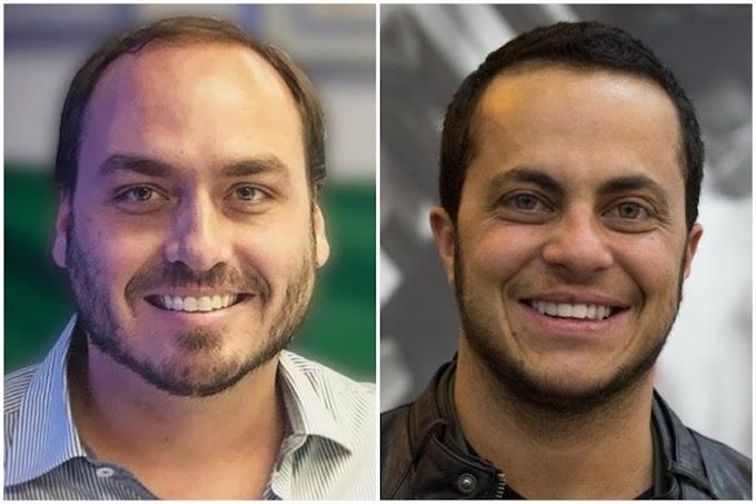 No feminino, filho de Bolsonaro parabeniza Thammy Miranda pela posse como vereador