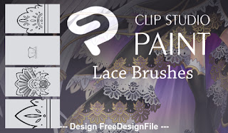 Decor lace PS Brushes