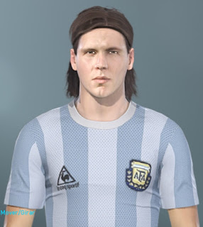 New classic faces for Pro Evolution Soccer  Update, PES 2019 Faces Fernando Redondo by MinchoSheen