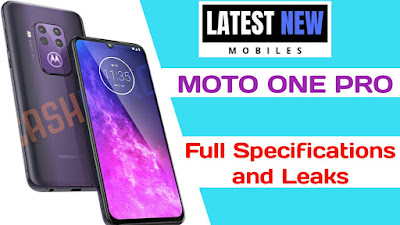 Motorola One Pro Full Specifications