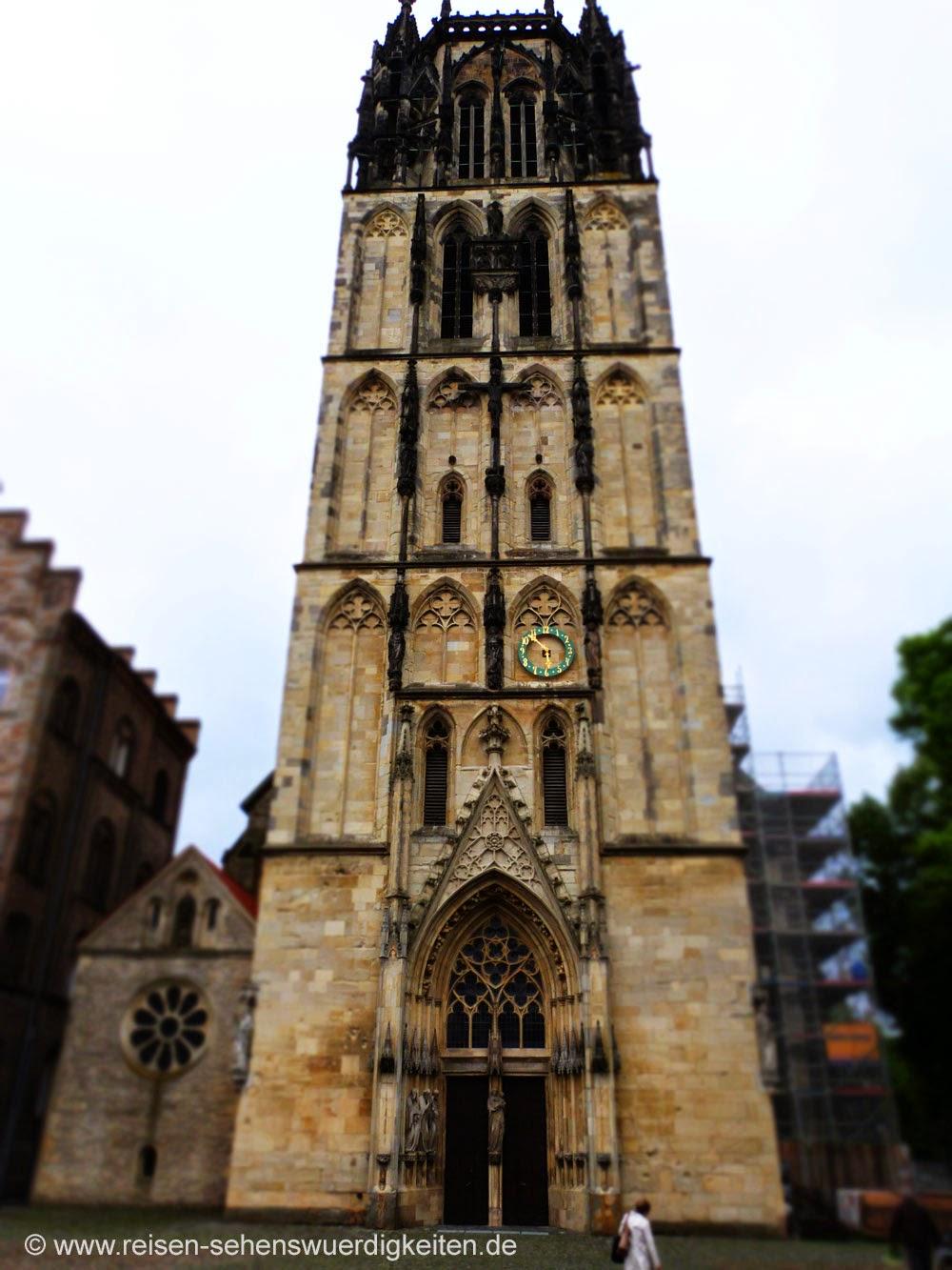 Münster Sehenswürdigkeiten, Überwasserkirche in Münster, Liebfrauenkirche in Münster