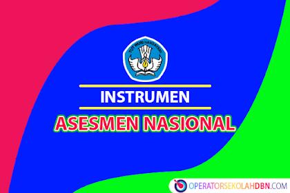 Format Instrumen Asesmen Nasional (AN)