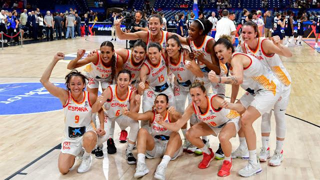 españa campeona europa baloncesto femenino 2019