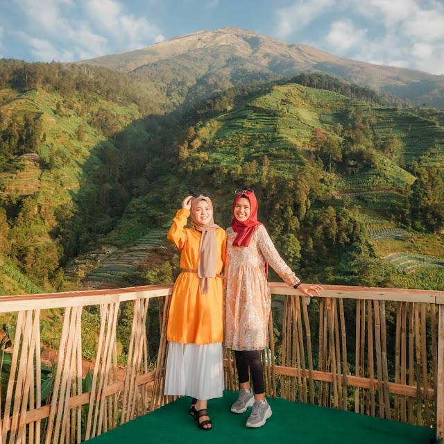 Gardu Pandang Mangli Sky View Magelang Jawa Tengah