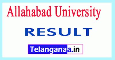 Allahabad University UG PG Results