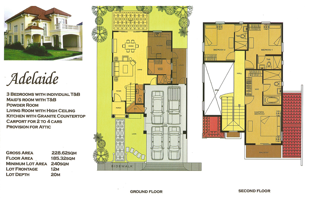 Versailles alabang adelaide luxury house and lot for for Versailles house floor plan