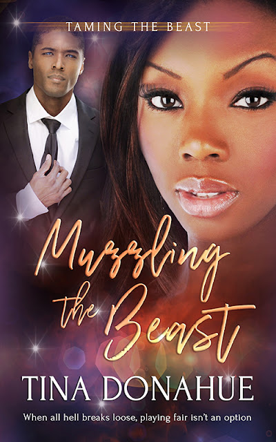 A mortal cop and a voodoo priestess – when all hell breaks loose, playing fair isn't an option – MUZZLING THE BEAST – Erotic PNR-RomCom #TinaDonahueBooks #EroticPNR #RomCom