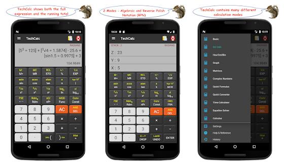 TechCalc Scientific Calculator Mod Apk