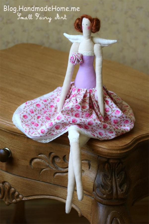الگوی لباس عروسک روسی Handmade Home Blog - A Magic Tiny Workroom: How To Sew ...