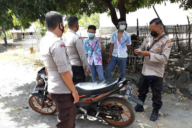 Polisi gagalkan aksi konvoi kelulusan SMA di Lombok Utara