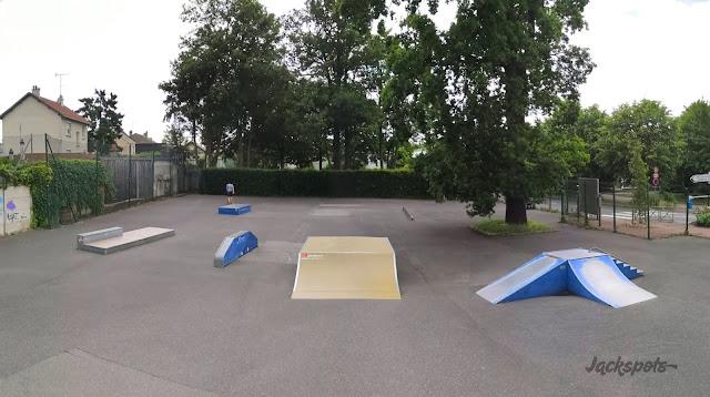 skatepark sèvres garenne