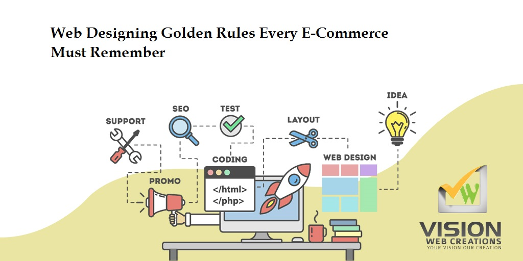 Web Designing Golden Rules for E-Commerce