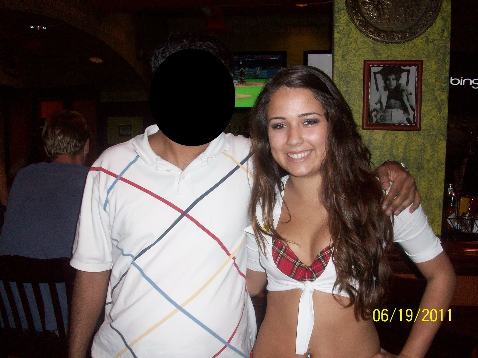 I Have Noticed Katie Several Times At The Long Beach Tilted Kilt This Was First Time Could Get Her Photo She Is Very Beautiful And Keeping Busy
