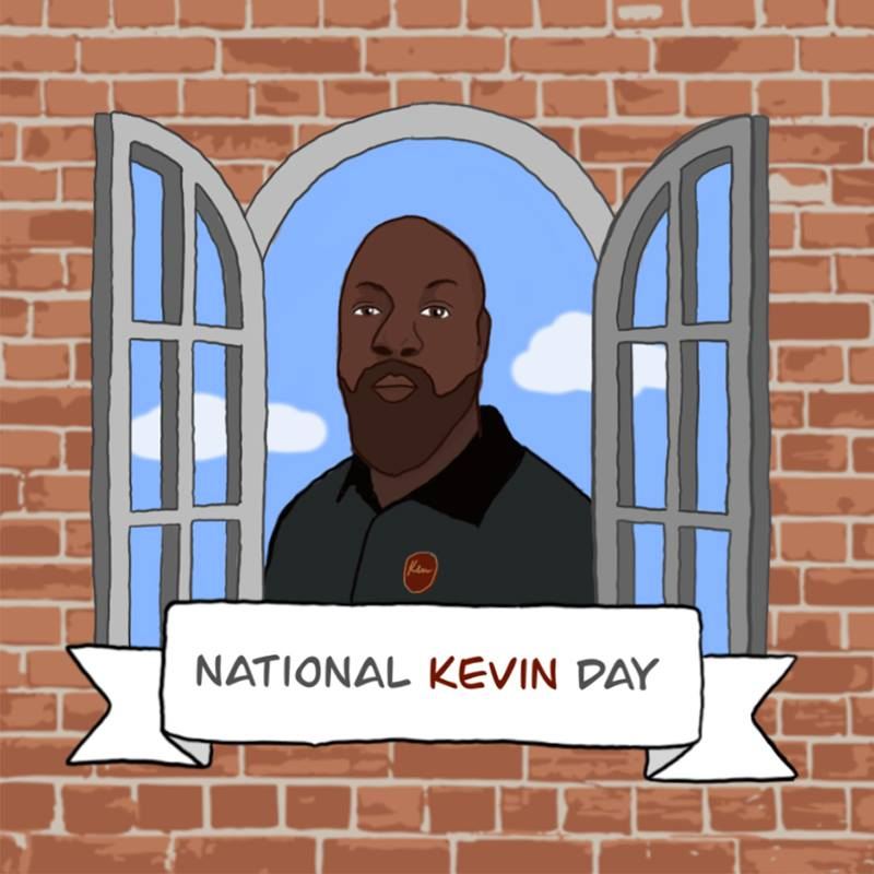 National Kevin Day Wishes Images download