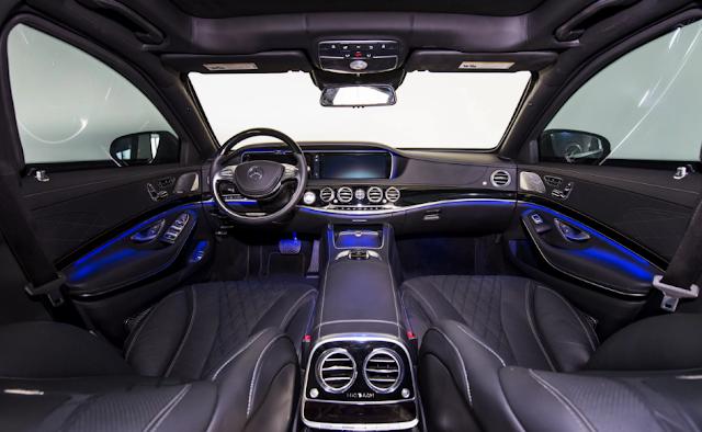 2018 New Mercedes S600 Interior
