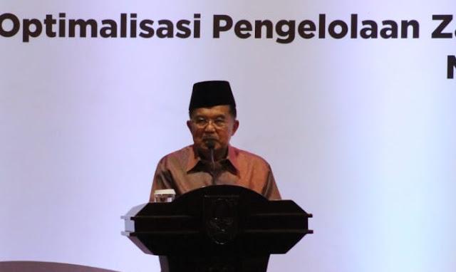 JK Dorong Baznas Optimalkan Pengumpulan Zakat Melalui Peningkatan Kepercayaan Publik