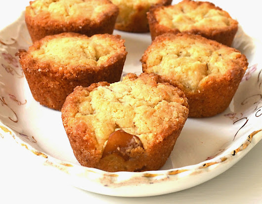 French Vanilla Pear Muffins