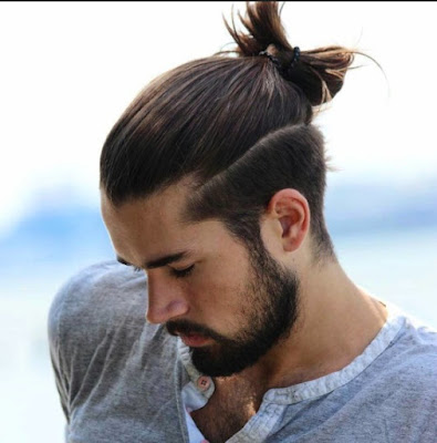 trend rambut top knot