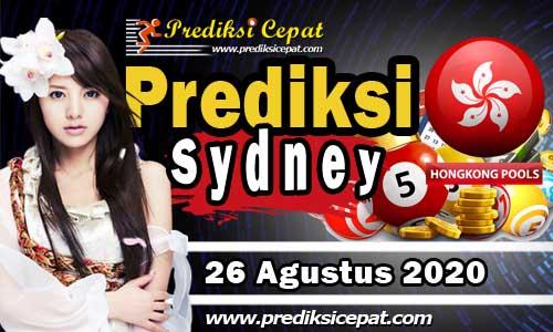 Prediksi Togel Sydney 26 Agustus 2020