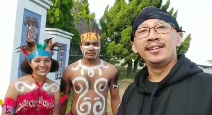 Letak Kebodohan Tanpa Batas Permadi yang Ngaku Sedang di Papua