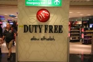 Duty Free, tempat berbelanja di Bandara Internasional Abu Dhabi