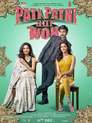 Pati Patni Aur Woh 2019 Full Movie Download HDRip 480p 300Mb