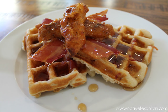 Quick & Easy Chicken & Waffles with Tyson® Better for You Lightly Breaded Chicken Strips & Wright Brand® Bacon