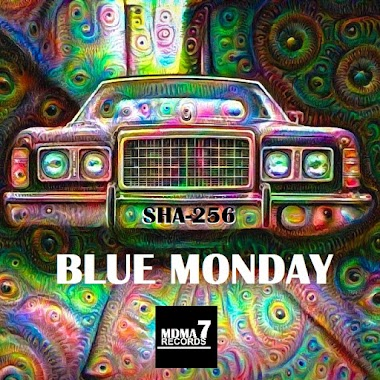 "British artist SHA-256 releases his debut album ""Blue Monday"""