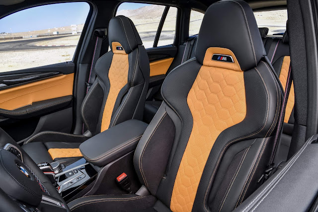 Novo BMW X3 M 2020 - interior
