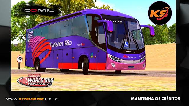 COMIL 1200 4X2 - VIAÇÃO TWISTER RIO