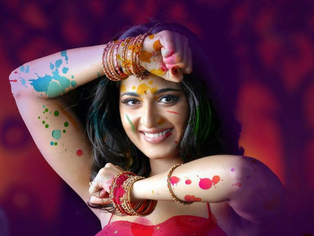 Actress Hot Holi Pics 2018