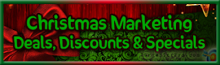 FREE Christmas Marketing Deals Discounts and Specials