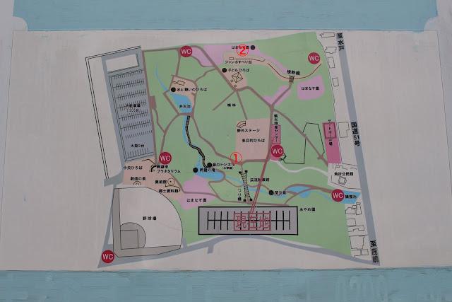 大野潮騒はまなす公園 園内地図