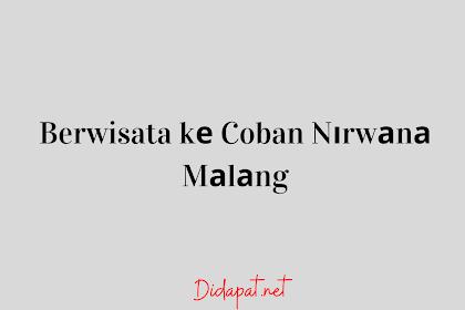 Berwisata kе Coban Nіrwаnа Mаlаng