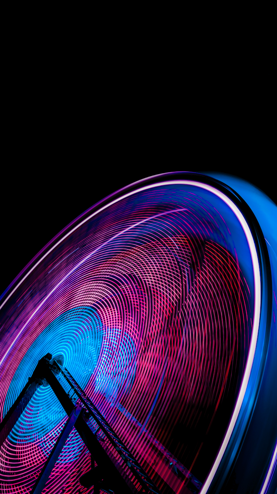 Ferris wheel AMOLED wallpaper